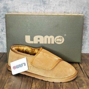 🤶⏬ Lamo Men's Luxury Suede & Sheepskin Bootie Lrg
